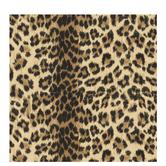 "Realistic Leopard Print Scrapbook Paper - 12"" x 12"""