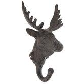 Moose Metal Wall Hook