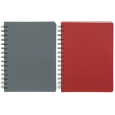 Red & Gray Wire Bound Sketchbooks