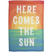 Here Comes The Sun Garden Flag