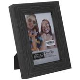 "Dark Gray Wood Look Frame - 3 1/2"" x 5"""