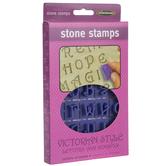 Victorian Alphabet Stone Stamps