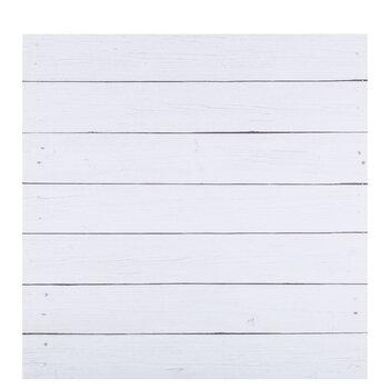 "White Shiplap Scrapbook Paper - 12"" x 12"""
