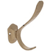 Gold Metal Double Wall Hook