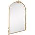 Gold Arch & Flourish Wall Mirror