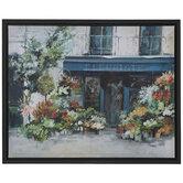 Flower Shop Canvas Wall Decor