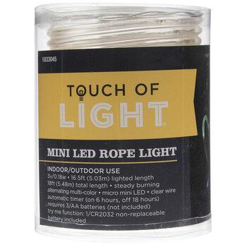 Multi-Color Mini LED Rope Lights- Now .50, Regular price .99