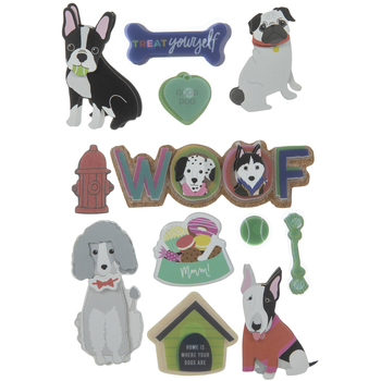Dog 3D Stickers