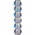Montana AB Faceted Glass Bead Strand