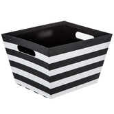 Black & White Striped Box