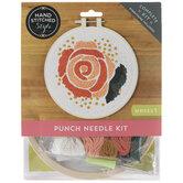 Rose Punch Needle Kit