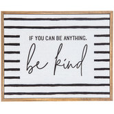 Be Kind Wood Wall Decor
