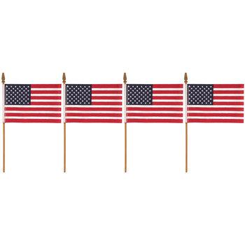 "U.S.A. Flags - 4"" x 6"""