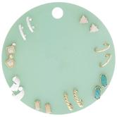 Hoops & Stones Earrings