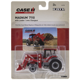 Red Model Tractor With Loader