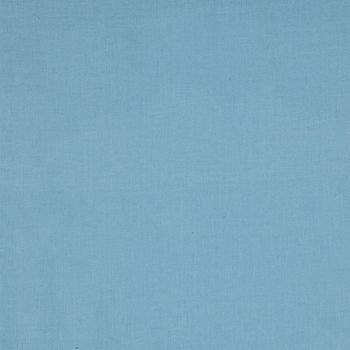 Sky Blue Homespun Cotton Calico Fabric
