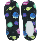 Neon Planet Liner Socks