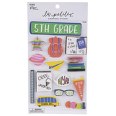 Fifth Grade 3D Stickers