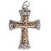 Hammered Cross Charm