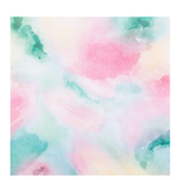 "Pastel Watercolor Scrapbook Paper - 12"" x 12"""