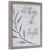 All Things Through Christ Framed Wall Decor