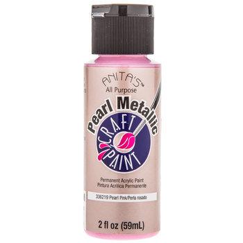 Pink Pearl Metallic Craft Paint
