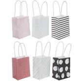 Polka Dot & Striped Craft Gift Bags