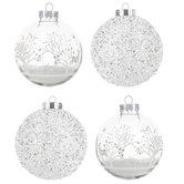 Glitter & Scenes Ball Ornaments