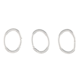 Oval Jump Rings - 4mm x 5mm