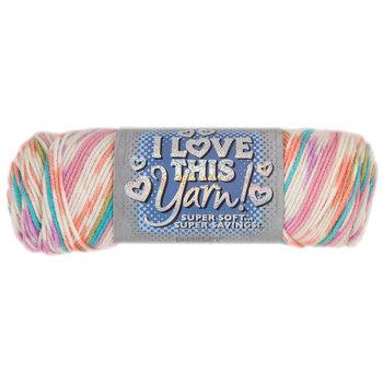 Sherbet Stripes Print I Love This Yarn