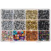 Alphabet Bead Mix In Organizer