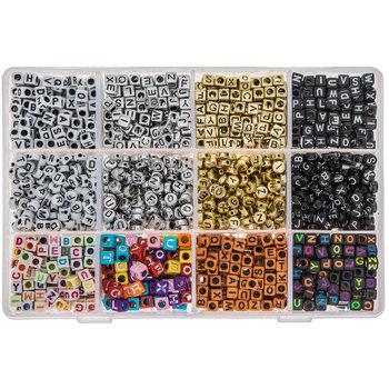 Alphabet Bead Mix In Organizer
