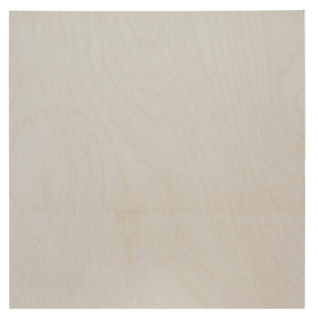 Square Wood Blank Canvas
