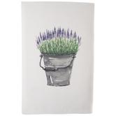 Bucket Of Lavender Kitchen Towel