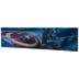 Captain America Lenticular Wood Wall Decor