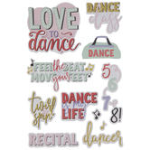 Dance Phrases 3D Stickers