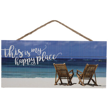 This Is My Happy Place Wood Wall Decor