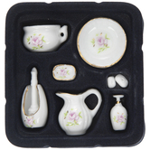 Pink Rose Bathroom Set