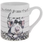 This Little Piggy Stayed Home Mug