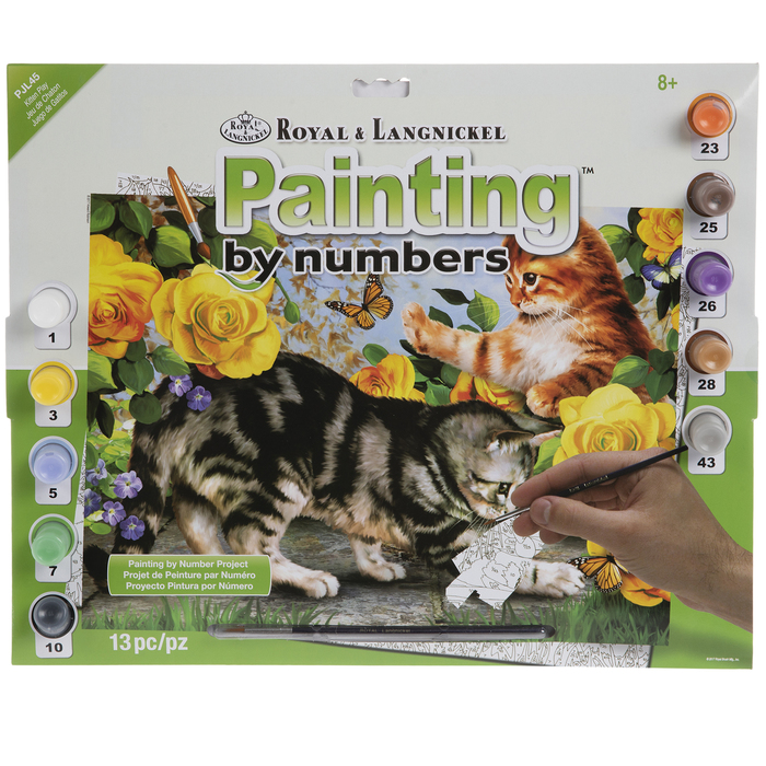 Kitten Play Paint By Number Kit Hobby Lobby 1212521