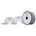 Silver Metallic Web Mesh Ribbon - 1 1/2
