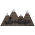 Adventure Mountains Wood Wall Decor