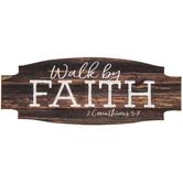 2 Corinthians 5:7 Wood Magnet