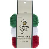 I Love Christmas Yarn Bee Sweet Minis Yarn