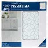 Lattice Peel & Stick Vinyl Floor Tiles