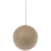 Paper Mache Ball Ornament