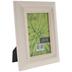 White Distressed Wood Frame - 4