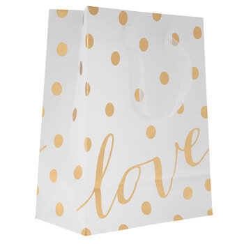 Love Polka Dot Gift Bag