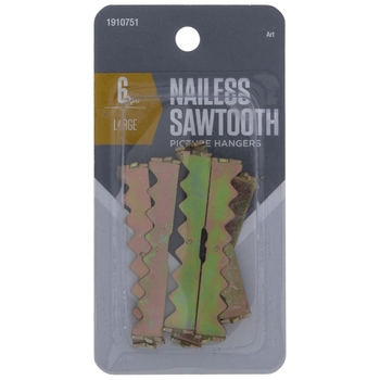 Nailess Sawtooth Hangers