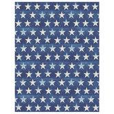 "Blue Crackled Stars Scrapbook Paper - 8 1/2"" x 11"""